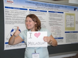 Happy Research Poster Customer