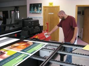 Flatbed Lage Format Printing