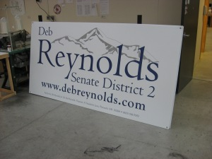 Political Campaign Sign