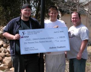 big checks for the giving season | megaprintinc, Powerpoint templates