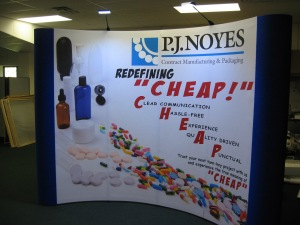Pop-Up Trade Show Booth