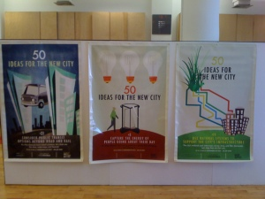 Vinyl banners as posters
