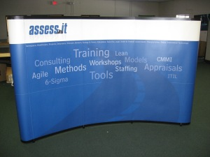 Replacement pop up booth panels