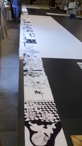 large format drawing
