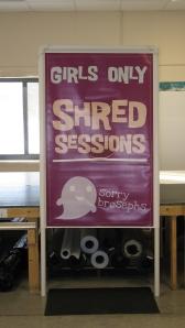 Vinyl Banners in Frames