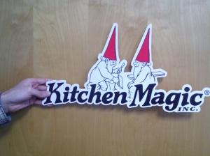 custom cut logo sign