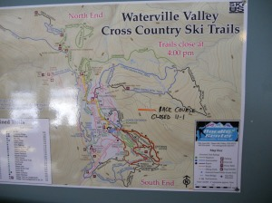 maps for cross country ski trails