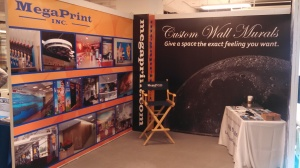 trade show booth at neocon