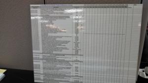checklist poster size