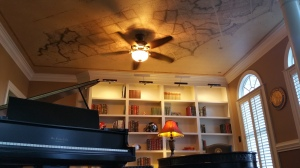 ceiling wall mural