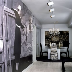 wall mural for an apartment