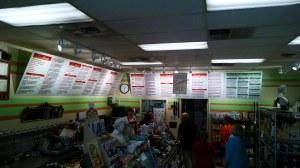large format menus