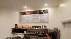 large size menu