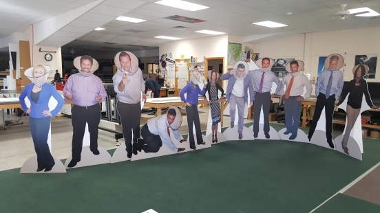 cutouts of people