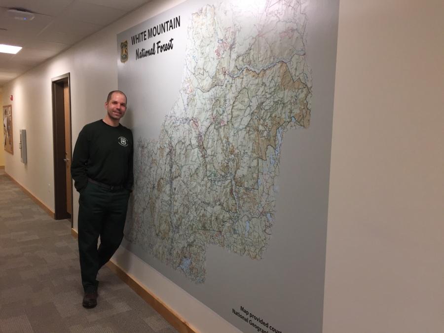large size map