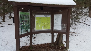 kiosk signs and maps