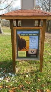 animal information sign