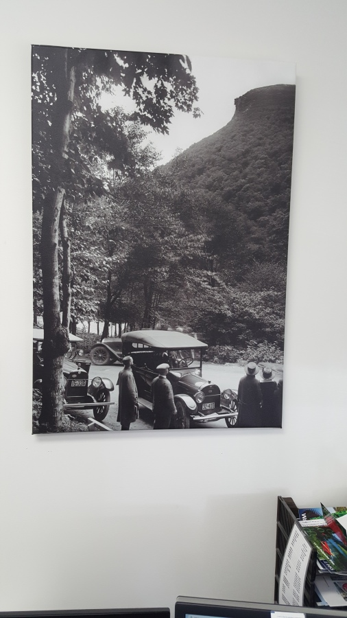 printed photo on canvas