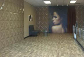 Mural for hair studio
