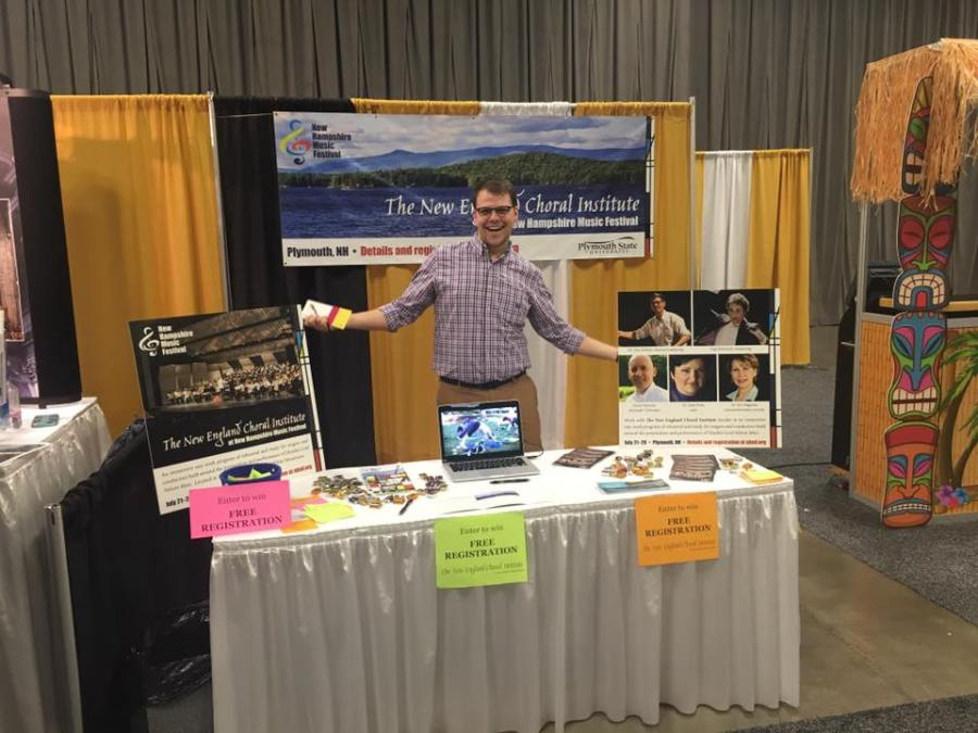 Economy trade show booth