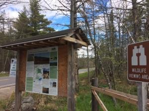 Hiking Trail Head Sign