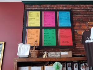 large menus for restaurants