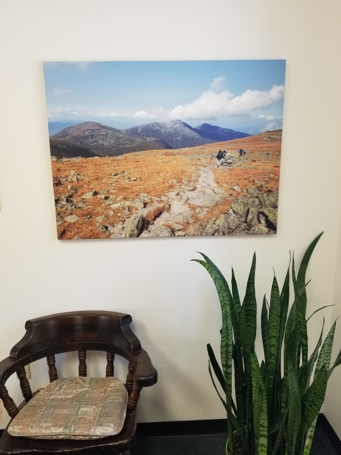 canvas print on stretcher bars