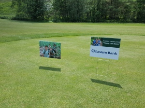 golf tournament signs