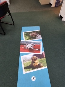 photo printing on yoga mat