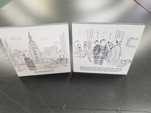 cartoon foamcore prints
