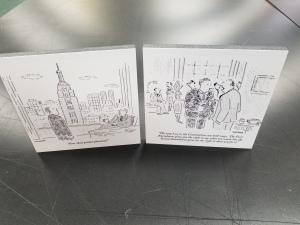 cartoon foamcore prints