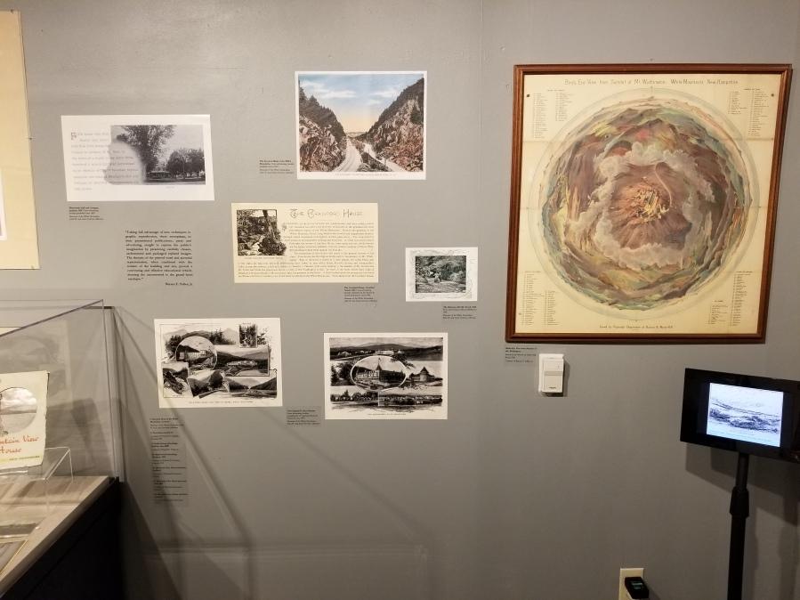 museum wall display