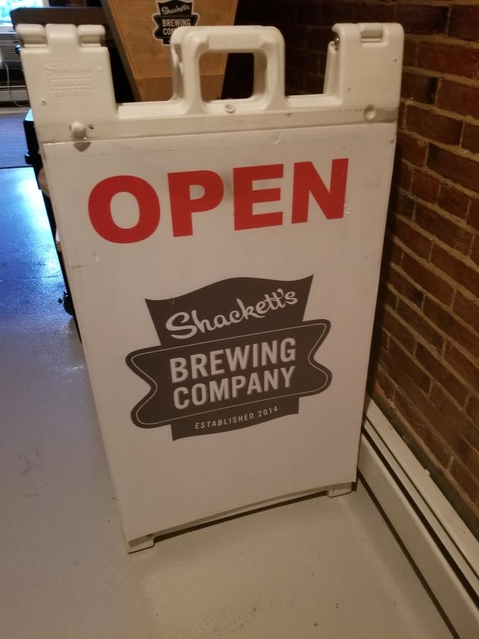 sidewalk sandwich sign