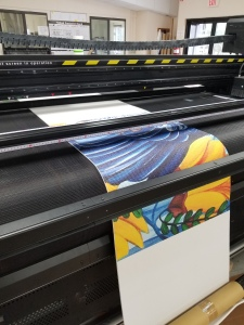 printing on yoga mat