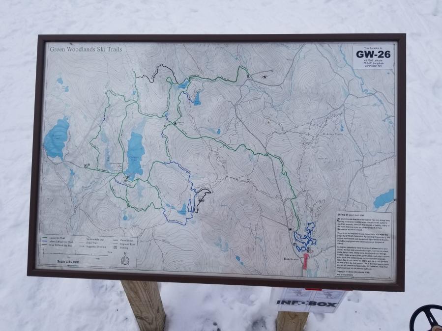 trail sign 24x36