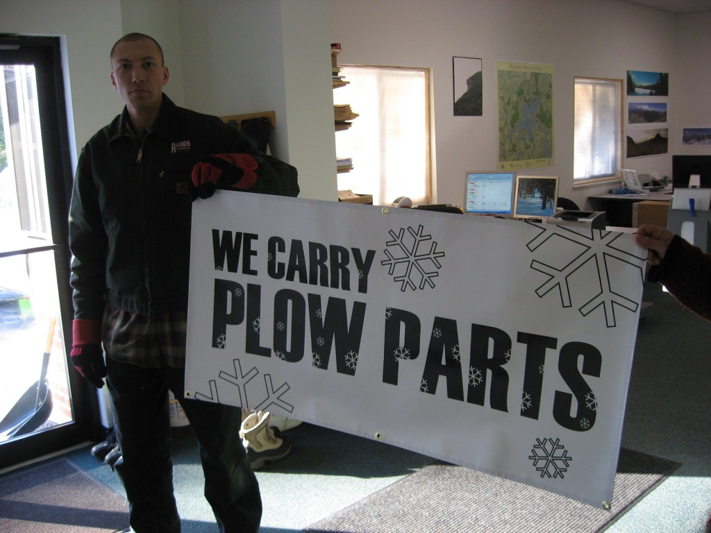 winter vinyl banner